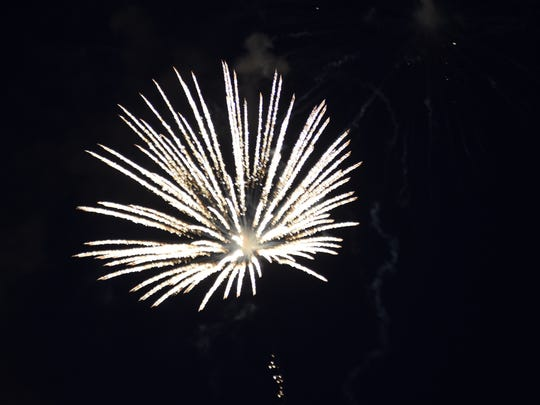 The City of Poughkeepsie 2015 Fourth of July fireworks