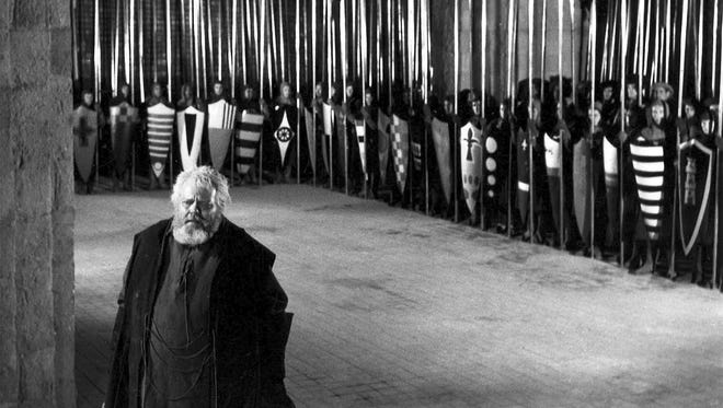 """Orson Welles wrote, directed and starred in """"Chimes at Midnight,"""" his little-known 1965 masterpiece."""