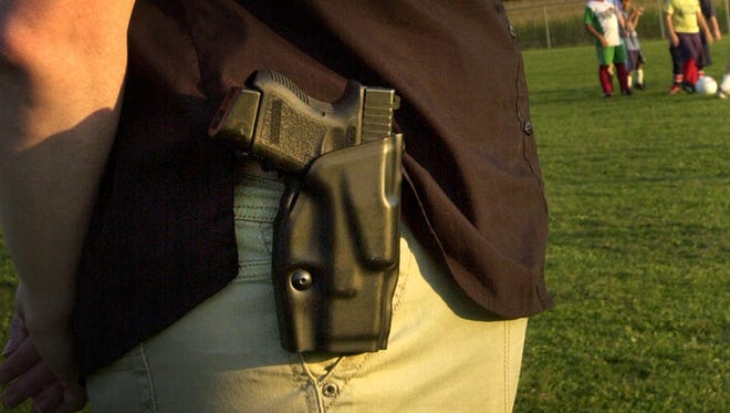 The Legislature this year passed a bill allowing churches to allow armed security in their buildings and on their property.