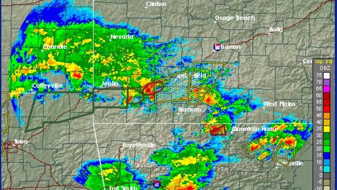 Springfield was under a tornado watch Thursday.