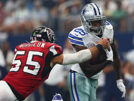 Falcons vs. Cowboys será uno de los platillos fuertes.