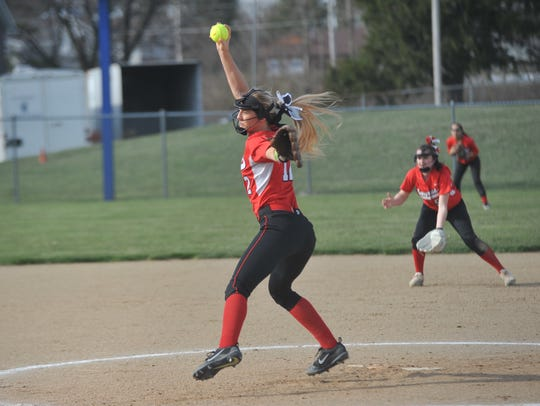 Alexis Dye didn't allow a hit in the three innings she pitched for Bucyrus.