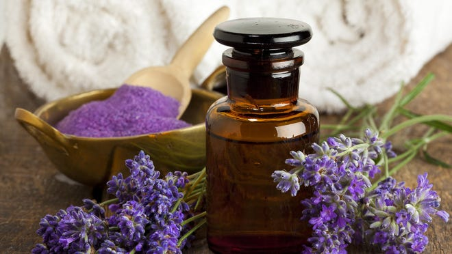 Lavender is commonly used in sachets or sprays to aid in relaxation and sleep.