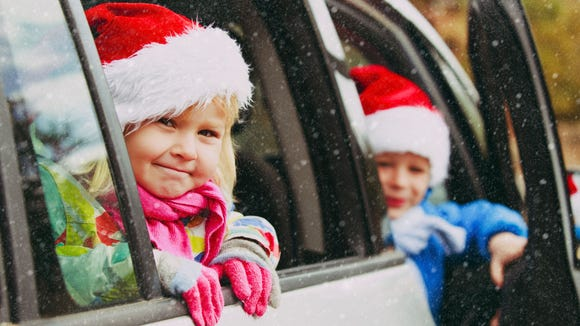 holiday road trip with toddlers