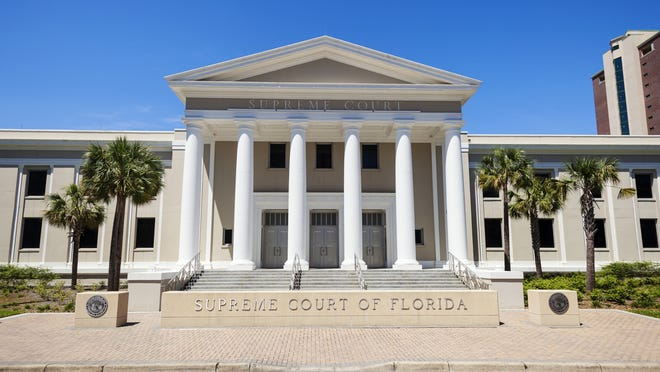 The Florida Supreme Court in downtown Tallahassee.