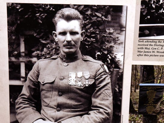 An exhibit about Sgt. Alvin York opens Saturday at