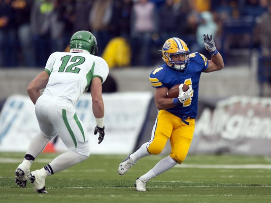 NCAA, football, men, Montana St, North Dakota, Shawn Johnson