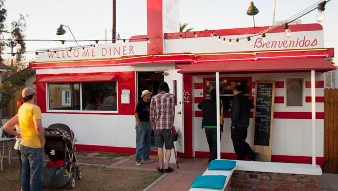 A number of downtown Phoenix bars and restaurants, including the Welcome Diner, are offering special $5 deals as part of the DTPHX City Sampler.