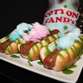 """The Rangers introduced a """"Cotton Candy Dog."""""""