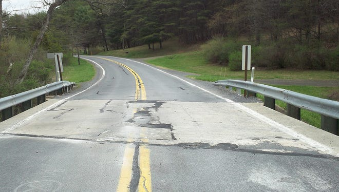 Pa. 655 will be closed for a month while the bridge over Fortune Teller Creek in Dublin Township, Fulton County, is replaced this spring.