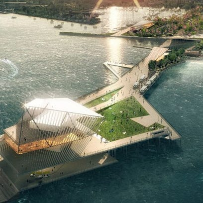 This is the Pier Park proposal for the St. Pete Pier.
