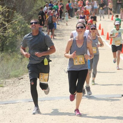 Around 2,400 runners participated in the Race to Robie