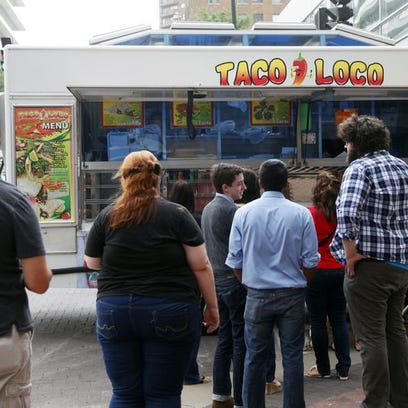 The Taco Loco truck will be one of about 10 food trucks