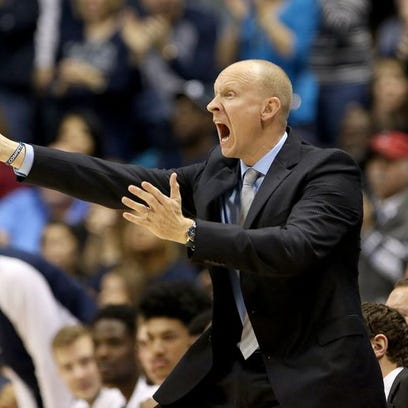 Xavier coach Chris Mack was disgusted with the team's