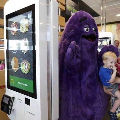 Many area McDonald's locations will on Friday each