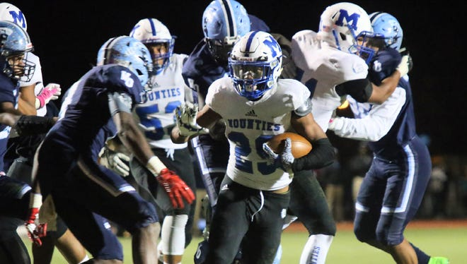 Willie Matthews rushed for 177 yards and two touchdowns for Montclair against West Orange.