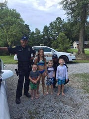 CPSO deputies in Livingston Parish stopped by this
