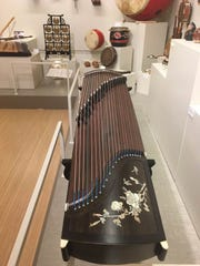 The guzheng is a traditional Chinese instrument, which