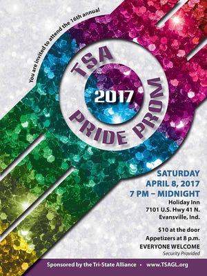 Tri-State Alliance Pride Prom is Saturday.