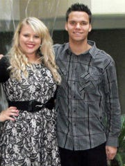 Tawni Nicholson, pictured with her younger brother, Chase Nicholson.