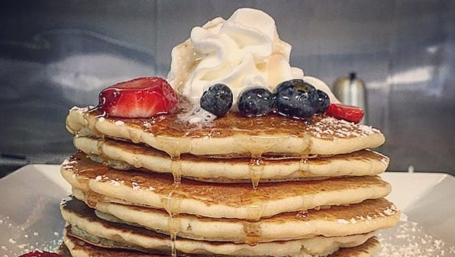 Pancakes are among the best sellers at Bonita Brunch.