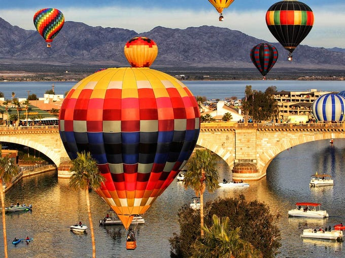 The Havasu Balloon Festival & Fair, now in its sixth