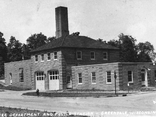 Greendale aldermen are evaluating four proposals to redevelop the original Greendale police and fire building in the 6800 Schoolway. The village sent out a request for proposals, making it clear that any redevelopment would have to maintain the building's historic character.