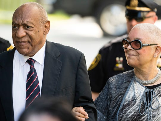 Bill Cosby arrives for his sexual assault trial with