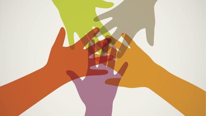 hands in unity