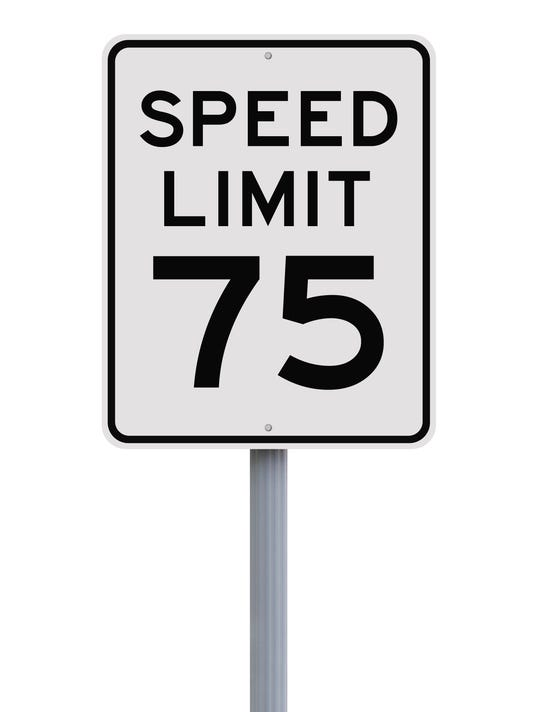Speed Limit at Seventy Five