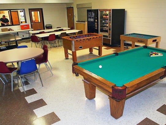 McFadden Community Center game room