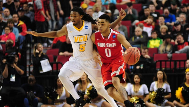 Ohio State guard D'Angelo Russell carried the Buckeyes past VCU.