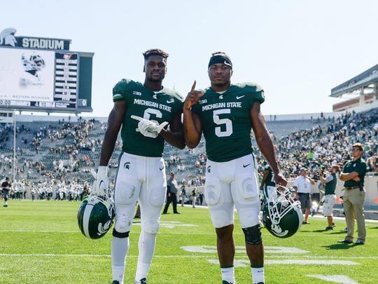 David, left, and Andrew Dowell.