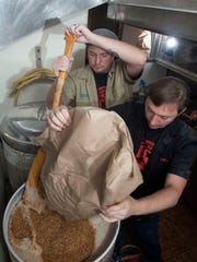 Brew masters, Rob and Tim Roberts; of the Redneck Riviera Brewing Project create the craft beers for Goat Lips Chew and Brewhouse on Copter Road in Northeast Pensacola. The brewing project has even created a specialty beer to honor the University of West Florida Archaeology Dept.