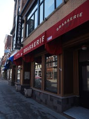 The outside of Brasserie 292 in the City of Poughkeepsie.
