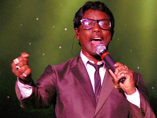Kenny Jones portrays Sammy Davis Jr. in the Rat Pack