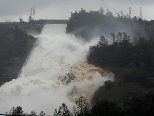 Damaged Dam One Year