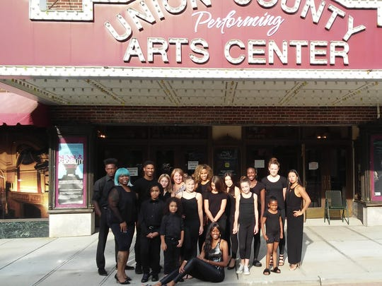 From Season 2 of The Runway In Rahway, models ready for Sunday's show at UPAC Main Stage Cafe.