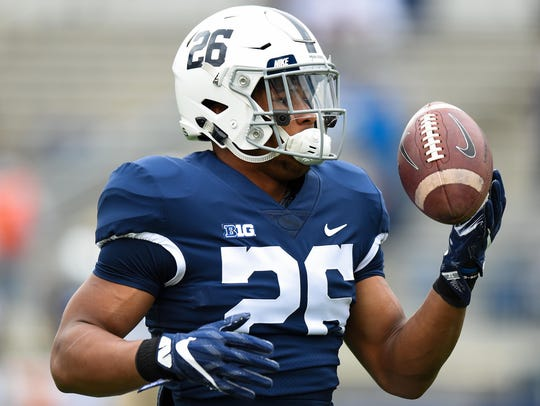 Penn State running back Saquon Barkley.