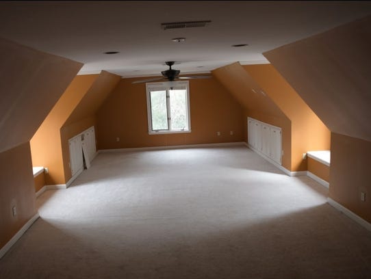 A big rec room upstairs offers all kinds of possibilities