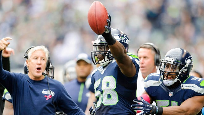 The Seattle Seahawks have placed linebacker Kevin Pierre-Louis on injured reserve.