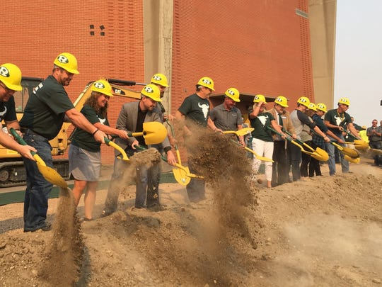 GFPS kicked off new construction work at C.M. Russell