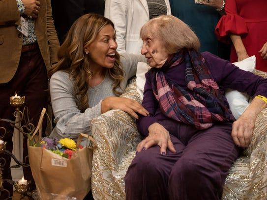Elizabeth Spagnola celebrates her 104th birthday at