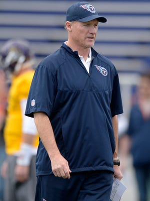 Coach Ken Whisenhunt is entering his second year with the Titans.