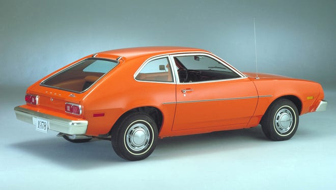 A 1978 Ford Pinto is shown in this company handout photo.