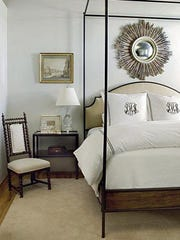 The light gray wall color in this bedroom is the kind of neutral color that buyers look for when shopping for a new home.