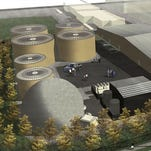 Rendering of methane plant proposed for California neighborhood.