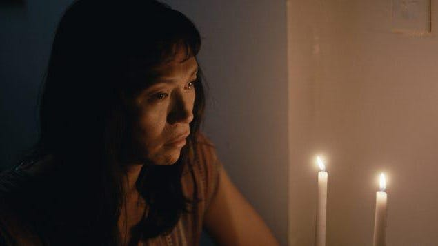 "Writer-director Isabel Sandoval also stars in ""Lingua Franca"" as an undocumented trans Filipina woman living in New York and seeking a green card."
