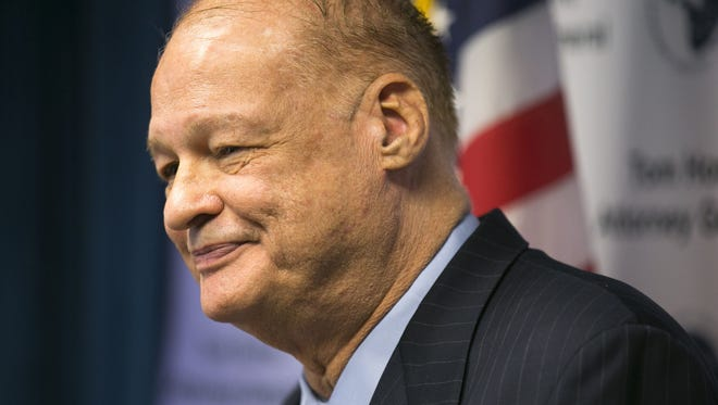 An independent investigation of former Arizona Attorney General Tom Horne concluded he improperly used hisoffice for politicalactivities during his unsuccessful 2014 bid for reelection.