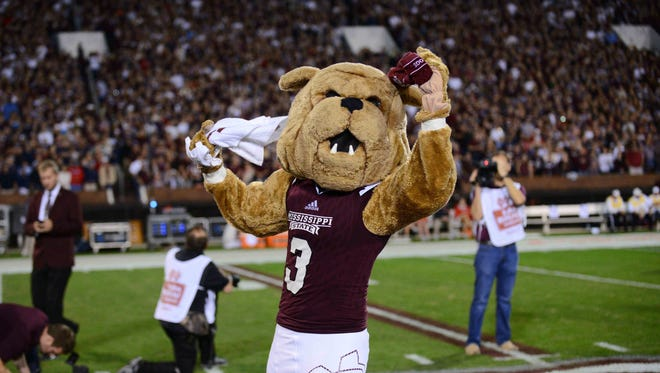 A former Mississippi State cheerleader, who was injured while wearing the Bully mascot costume, released the university from her lawsuit last month.